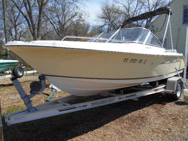 2006 Sea Hunt Dual Console 171 Carolina Boat Amp Trailer